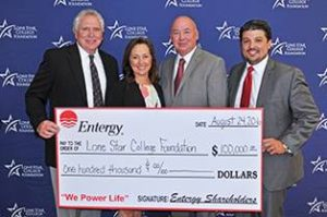 Lone Star College, Entergy Texas, Inc. partner to support LSC Promise Scholarship program