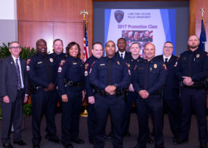 Lone Star College Police Department announce promotions