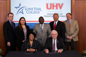 Lone Star College, University of Houston-Victoria Partner for Student Success